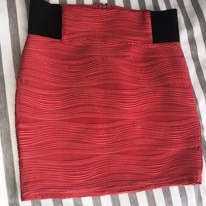 2 for $10~~Textured Mini skirt